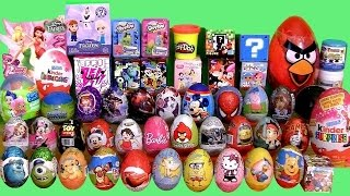 Giant 55 SURPRISE EGGS SURPRISE BOXES PlayDoh Frozen MLP Minecraft Cars2 Frozen Mystery Transformers