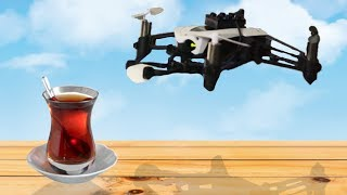 Drone ile Çaya Şeker Atma Kapışması