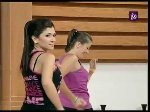 عرض لرياضة رقصة الزومبا في برنامج دنيا يا دنيا Roya YouTube
