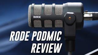 Rode PodMic Dynamic Mic Review / Test