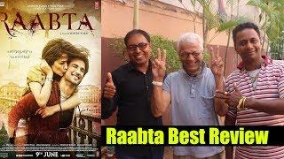 Raabta Movie Best Review | Lalu Makhija, Vijay Shah And Bobby Bhai Review On Raabta Movie