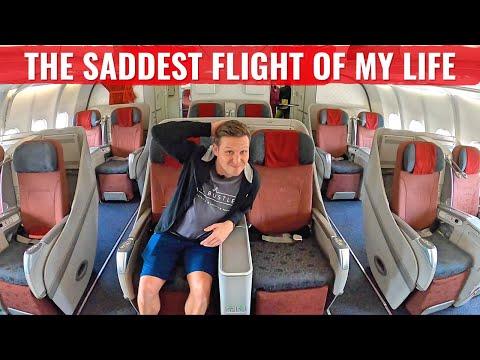 GARUDA INDONESIA THE SADDEST FLIGHT OF MY LIFE