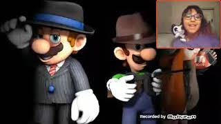D.G.F react to SMG4 The Mario mafia by SMG4