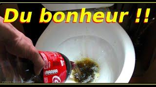 Coca Cola expérience détartrant,dégraissant,anti-rouille remi gaillard nouveauté 2015 (fake Lol)2014