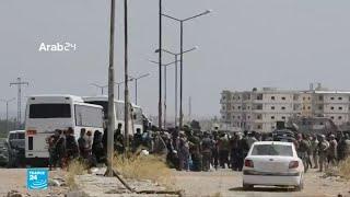 إجلاء سكان كفريا والفوعة بموجب اتفاق بين هيئة تحرير الشام والحرس الثوري الإيراني