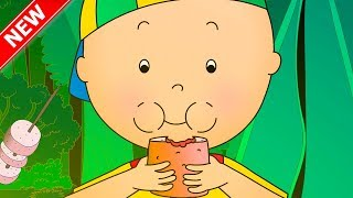 ★NEW★ CAILLOU GOES CAMPING | Cartoons for kids | Funny Animated Cartoons for Children
