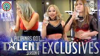 PGT 2018 Exclusives: Maka Girls try the spit or swallow challenge