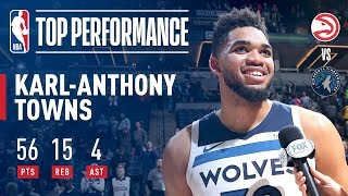 The Big KAT Gets Cookin For A T-Wolves Single Game Franchise Scoring Record