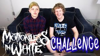 Motionless In White GUESS THAT SONG CHALLENGE