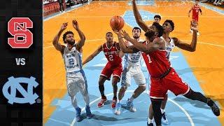 NC State vs. North Carolina Basketball Highlights (2017-18)