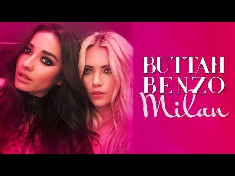 MTV EMA's with Ashley Benson AKA ButtahBenzo Shaycation Milan