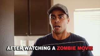 After Watching a Zombie Movie | David Lopez
