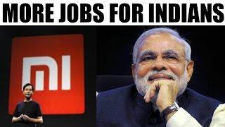 Make in India : Xiaomi