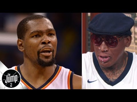 Dennis Rodman calls Kevin Durant's OKC comments 'selfish' The Jump