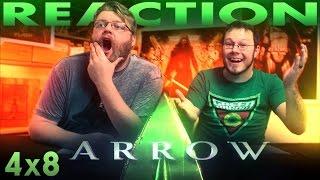 Arrow 4x8 REACTION!!