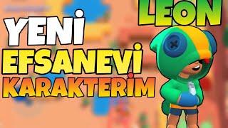 YENİ EFSANEVİ KARAKTERİM LEON ! - Brawl Stars Türkçe