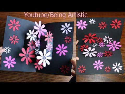 Xxx Mp4 Easy Way To Make Flower Pop Up Card 12 Paper Crafts Handmade Craft 3gp Sex