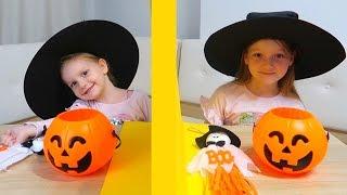 TELEPATIE Challenge de Halloween! Sara vs Sofia