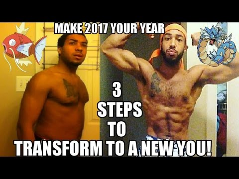 MAKING 2017, Your YEAR!  3 EASY Steps To BETTER YOURSELF!