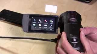 Panasonic HC-V750K / V750 / HC-W850 HD Camcorder Review - First Impressions and Video Samples