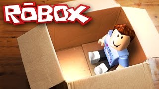 MAILING MYSELF IN A BOX CHALLENGE IN ROBLOX