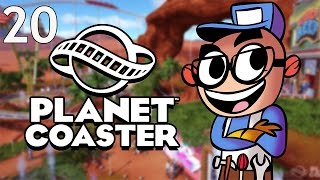 Northernlion Plays - Planet Coaster - Episode 20 [Scenery]