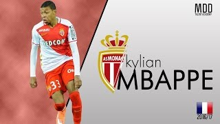Kylian Mbappé | AS Monaco | Goals, Skills, Assists | 2016/17 - HD