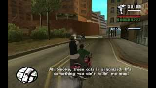 GTA San Andreas - Just Business (Big Smoke Mission #4) - from the Starter Save - Mission Help