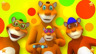 The Bear Went Over the Mountain | Nursery Rhymes Songs Collection | 3D Baby Song by Little Treehouse