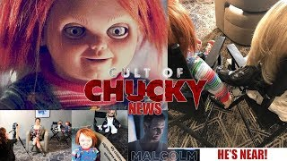 JENNIFER TILLY INTERVIEW PHOTO, CHUCKY STALKING THE DOCTOR, & MORE! | CULT OF CHUCKY NEWS!