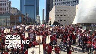 Los Angeles teachers prepare to strike