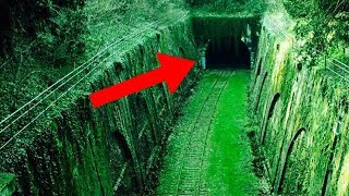 8 Most MYSTERIOUS Abandoned Places Taken Over By Nature!