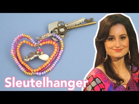 Lovely sleutelhanger - DIY | Jill