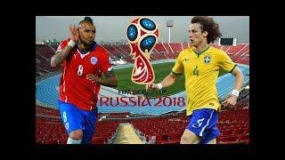CHILE VS BRASIL Segundo Tiempo eliminatorias RUSIA 2018