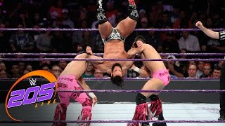 The Bollywood Boyz vs. Tony Nese & Drew Gulak: WWE 205 Live, Nov. 29, 2016
