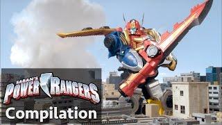 Power Rangers en Français | Power Rangers Megaforce - Les batailles de Zord