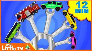 Vehicles Finger Family   Nursery Rhymes   Baby Songs   Kids Videos