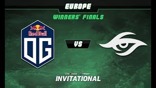 OG vs Secret Game 3 - SL-i Invitational: EU Qualifier Winners' Finals - @LysanderXonora