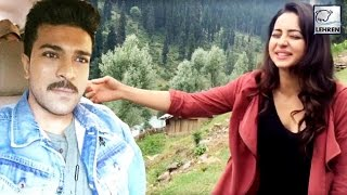 Ram Charan's FUNNY Video With Rakul Preet Singh | Dhruva | Lehren Telugu