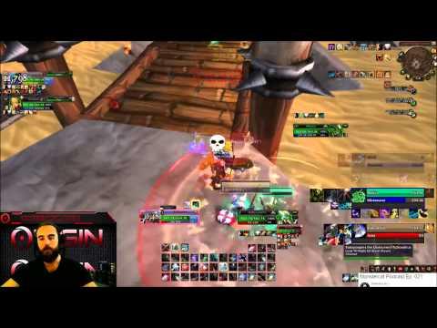 Bajheera - ~2400 Kitty Cleave ft.  Sodapoppin & NMP - WoW Gladiator Warrior PvP