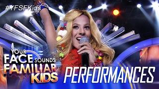 Your Face Sounds Familiar Kids: Awra Briguela as Shakira - Waka Waka