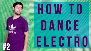 Loony Boy Electro dance lessons Part 2 [New York Dance Studio]