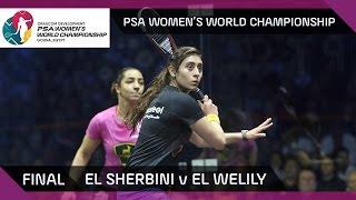 Squash: El Sherbini v El Welily - PSA Women