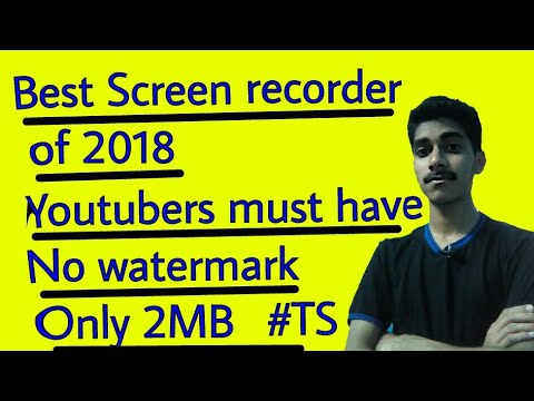 Xxx Mp4 Best Free Screen Recorder Of 2018 For All Youtubers In Just 2MB No Watermark Must Try TS 3gp Sex