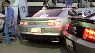 كمارو معدلة و الموستانج المافيا - معرض بغداد Auto Show
