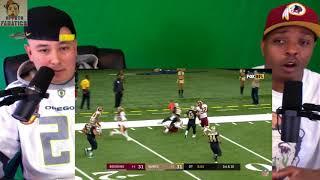 Saints vs Redskins | Reaction | NFL Week 11 Game Highlights