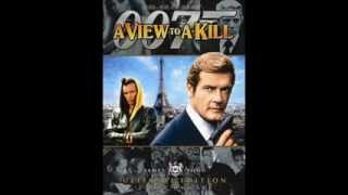 James Bond 007 - A view to a Kill Soundtrack