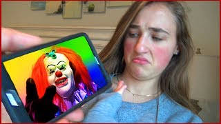 Scary Killer Clown Answers Our Phone Call Then Sends us Creepy Videos Texts