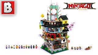 LEGO NINJAGO City  Set 70620 LEGO Ninjago Movie  | Build Time Lapse Review