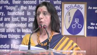 Dr. Poonam Khetrapal Singh, Regional Director, WHO, SEARO speech at Sulabh Campus - 9/3/16